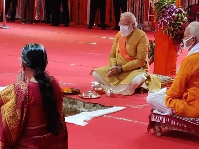 Narendra Modi Visited Ramlala
