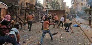 Violent Protests in Beirut