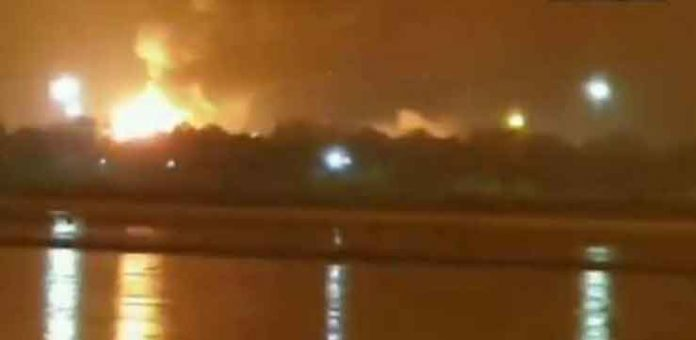 Blast in ONGC Gas Plant
