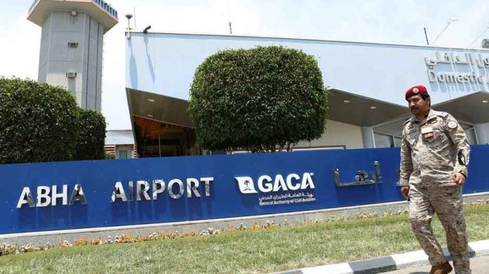 Airstrike at Abha Airport