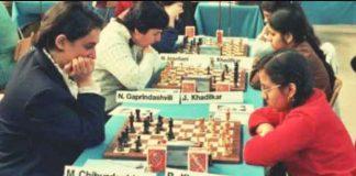 Chess Champion Rohini Khadilkar