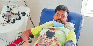 Happy Insa donated platelets and introduced humanity