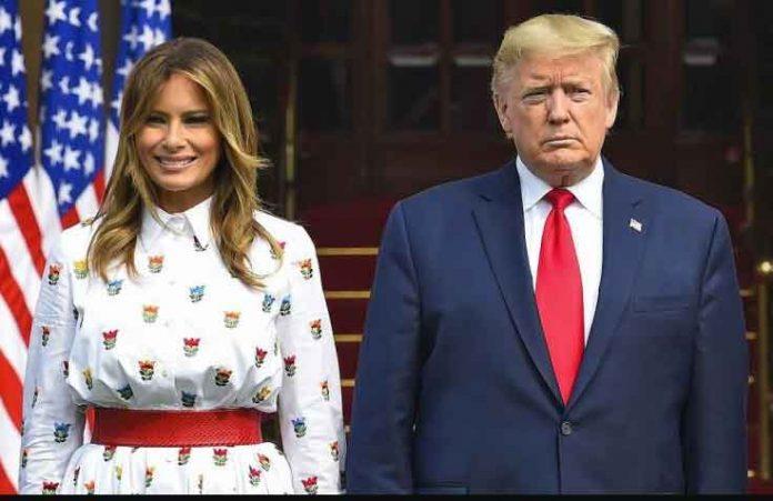 Trump and Melania Corona Test