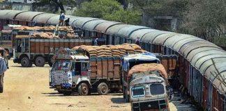 Transportation of Vegetables
