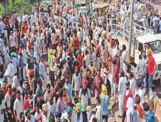 Haryana Police failed every handcuff on Shambhu border, farmers traveled towards Delhi - Sach Kahoon News