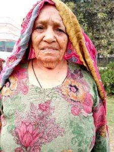 Kesari Devi Insan (90 years old), Gangwa, Hisar.